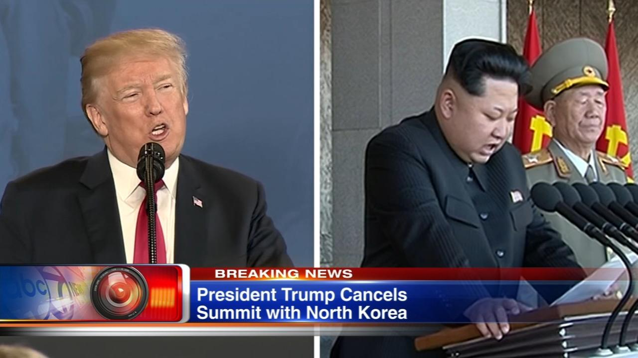Trump cancels summit with North Koreas Kim Jong Un