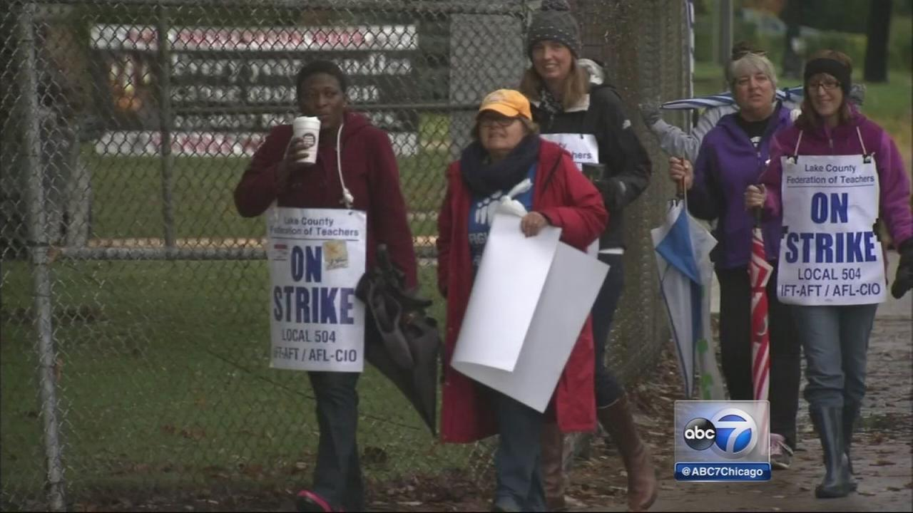 Waukegan teachers strike continues
