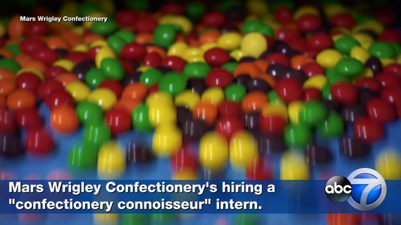 Calling all candy lovers: what it takes to earn the worlds sweetest internship