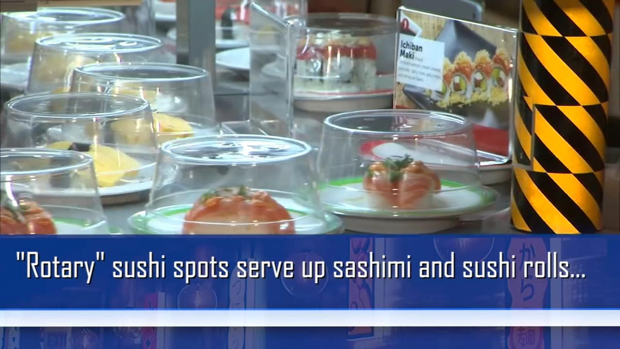 Rotary sushi spots now open in Chicago