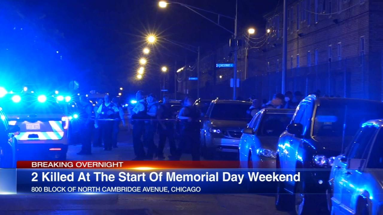 2 killed in Chicago at start of Memorial Day weekend