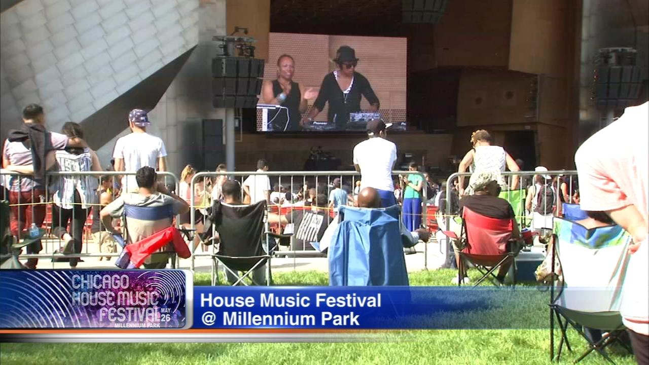 House Music Festival dances through Millennium Park Saturday