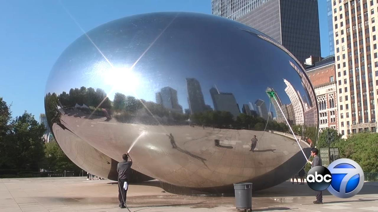 WATCH: Heres what it takes to clean the Bean
