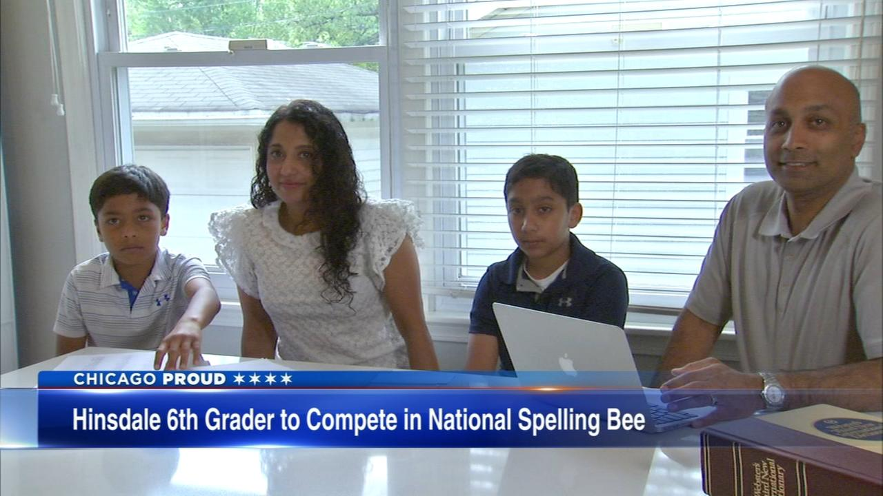 Hinsdale student headed to spelling bee, following in fathers footsteps