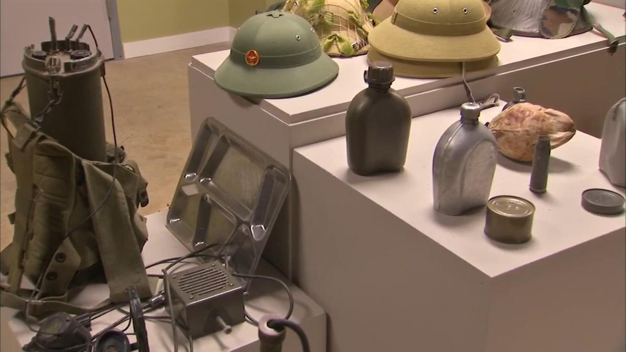 National Veterans Art Museum featuring new Artifacts exhibit