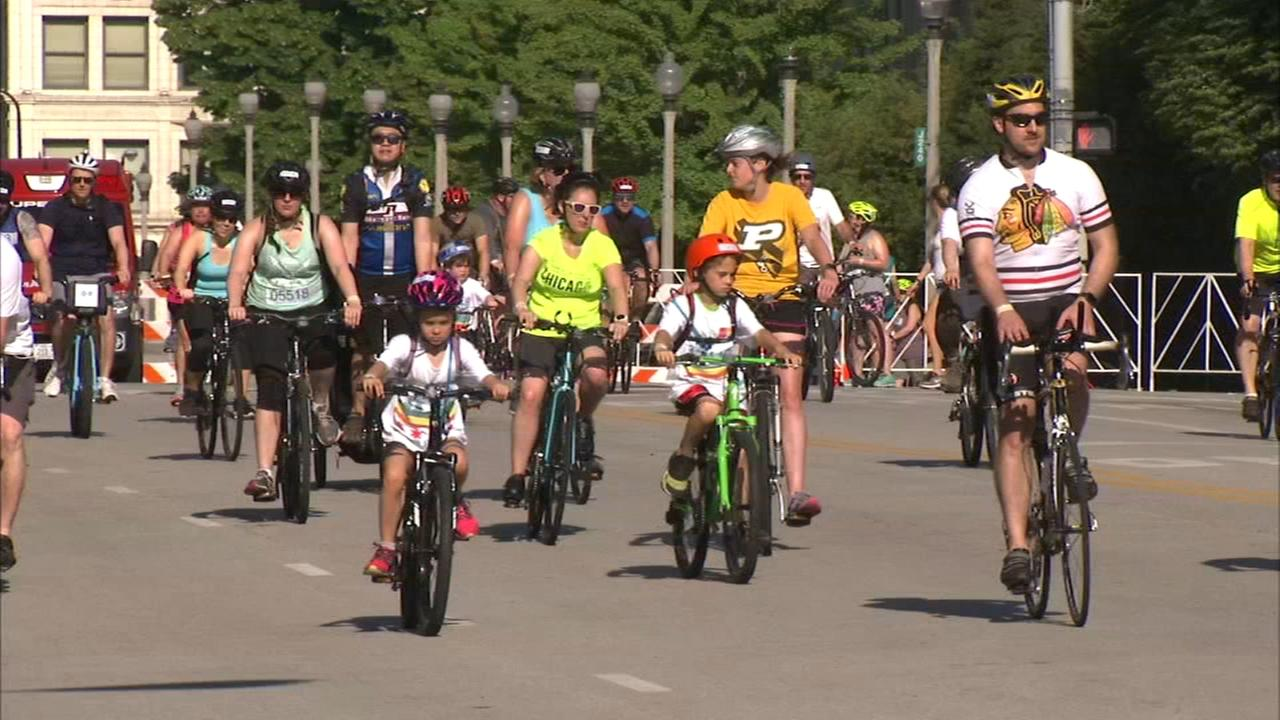 Bicycles take over LSD for Bike the Drive
