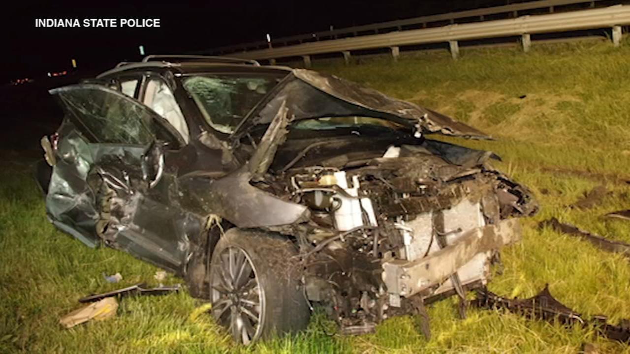 Burr Ridge man killed in Indiana Toll Road crash