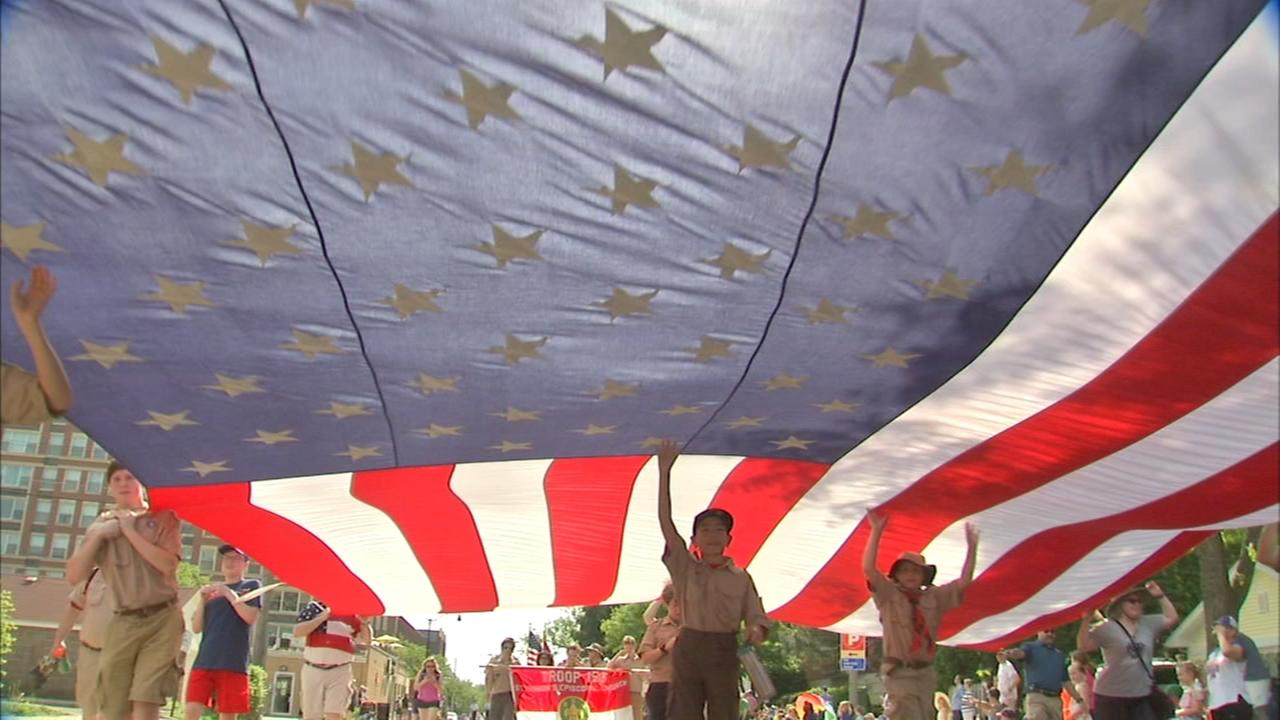 Chicago area marking Memorial Day with ceremonies, parades