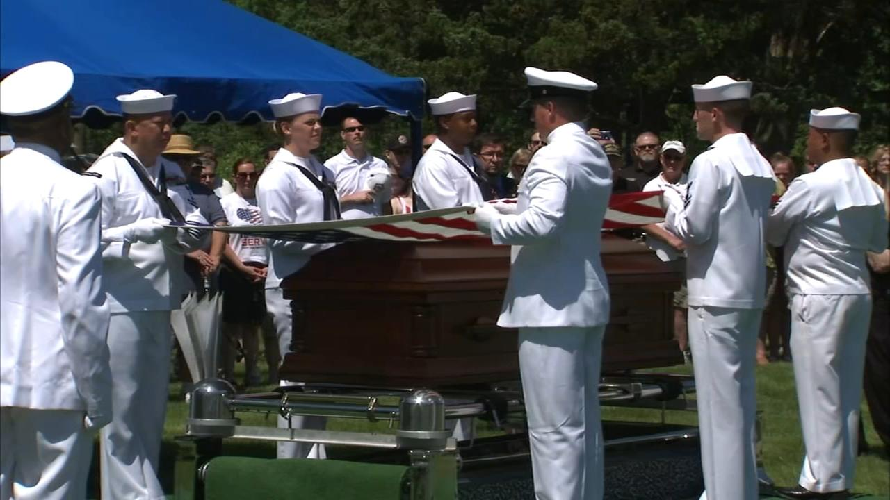 Recently IDd Chicago area sailor killed at Pearl Harbor comes home