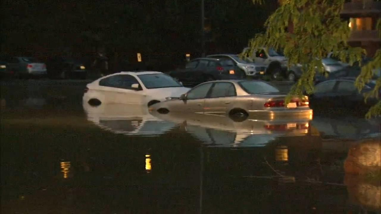 Remains of Tropical Depression Alberto cause floods in west, northwest suburbs