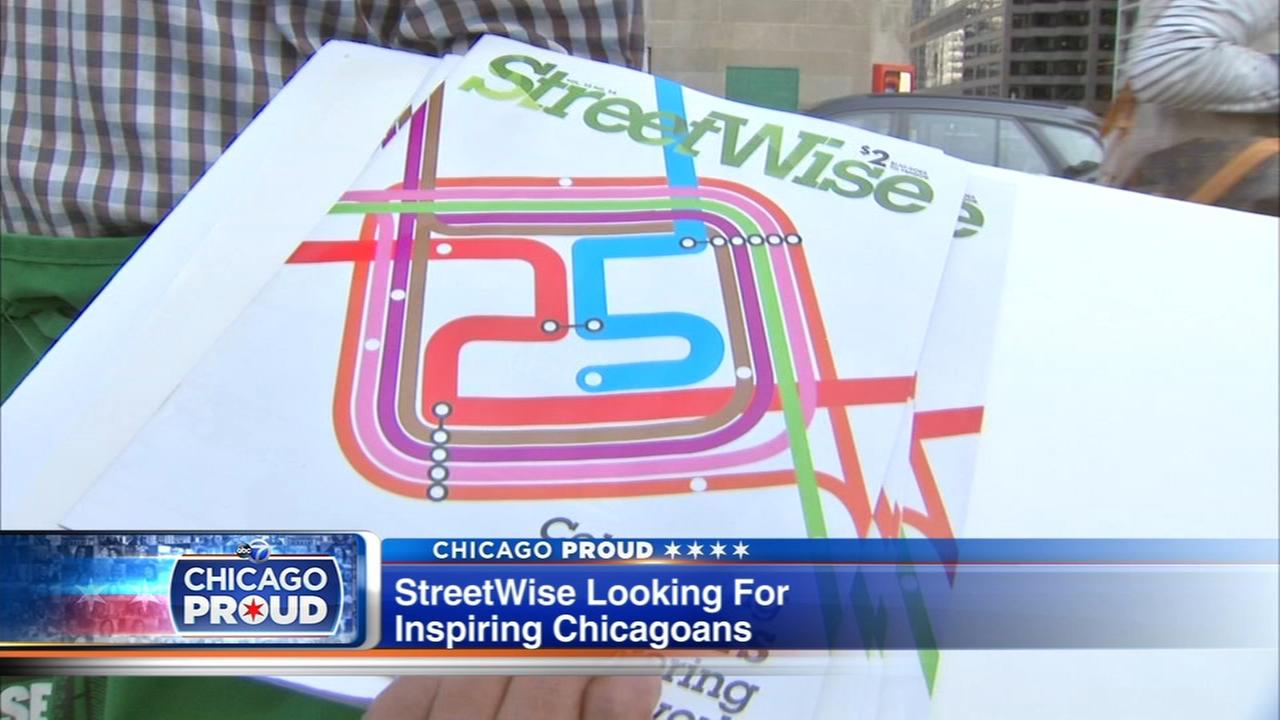 StreetWise looking for inspiring Chicagoans