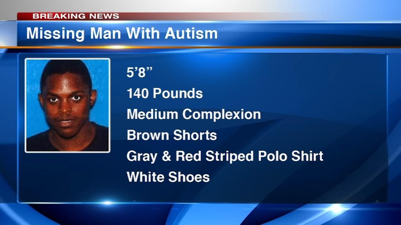 Man with autism missing from South Shore, family desperately searching