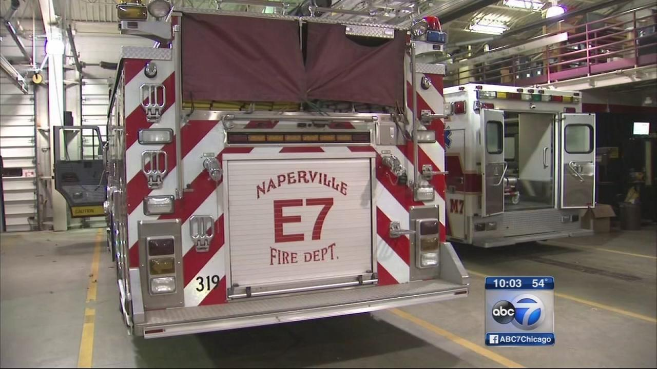 Naperville firefighters prepare for Ebola