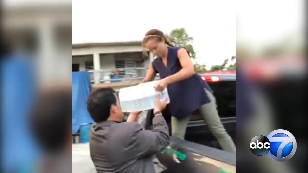 ABC7s Leah Hope returns to Puerto Rico to help recovery efforts