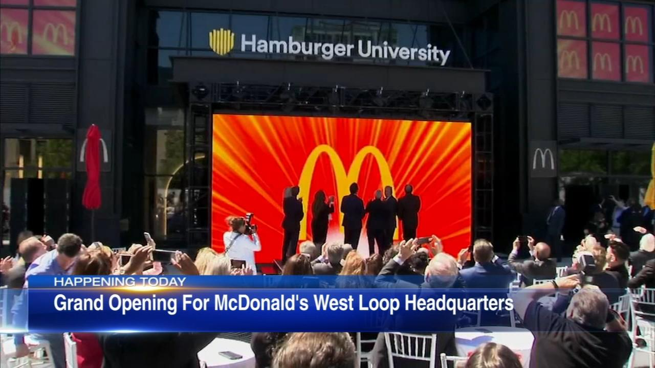 McDonalds celebrates grand opening of West Loop HQ