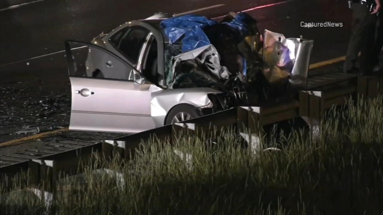 Firefighter among 2 killed in wrong-way crash on I-57 in Country Club Hills