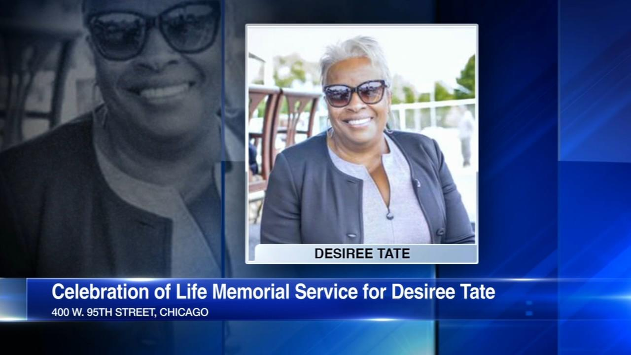 Funeral held for Chicago political pioneer Desiree Tate