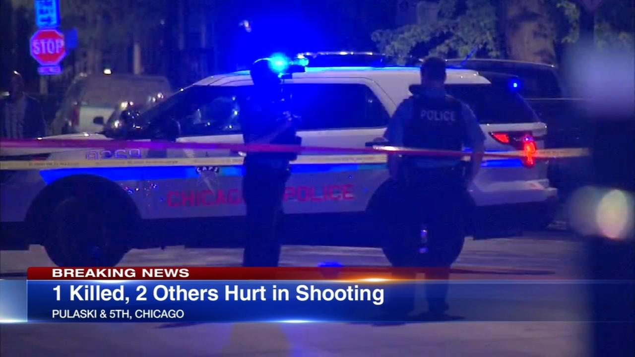 1 killed, 2 wounded in Lawndale shooting