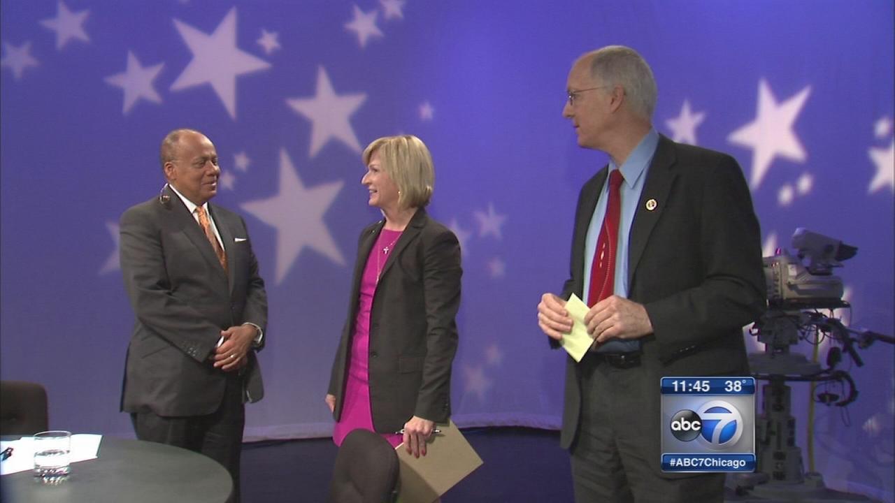 Bill Foster, Darlene Senger debate