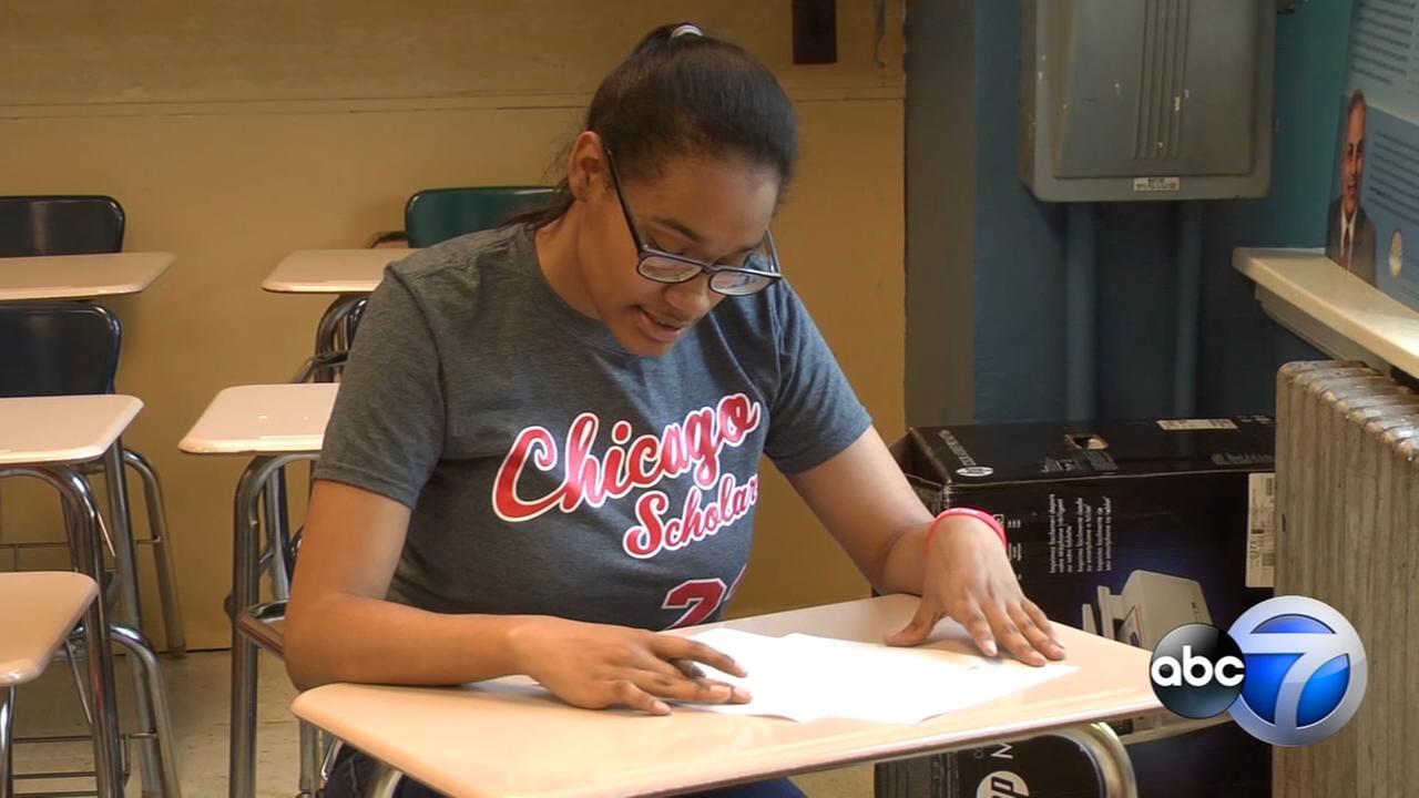 Chicago teen awarded $1.3 million in scholarships