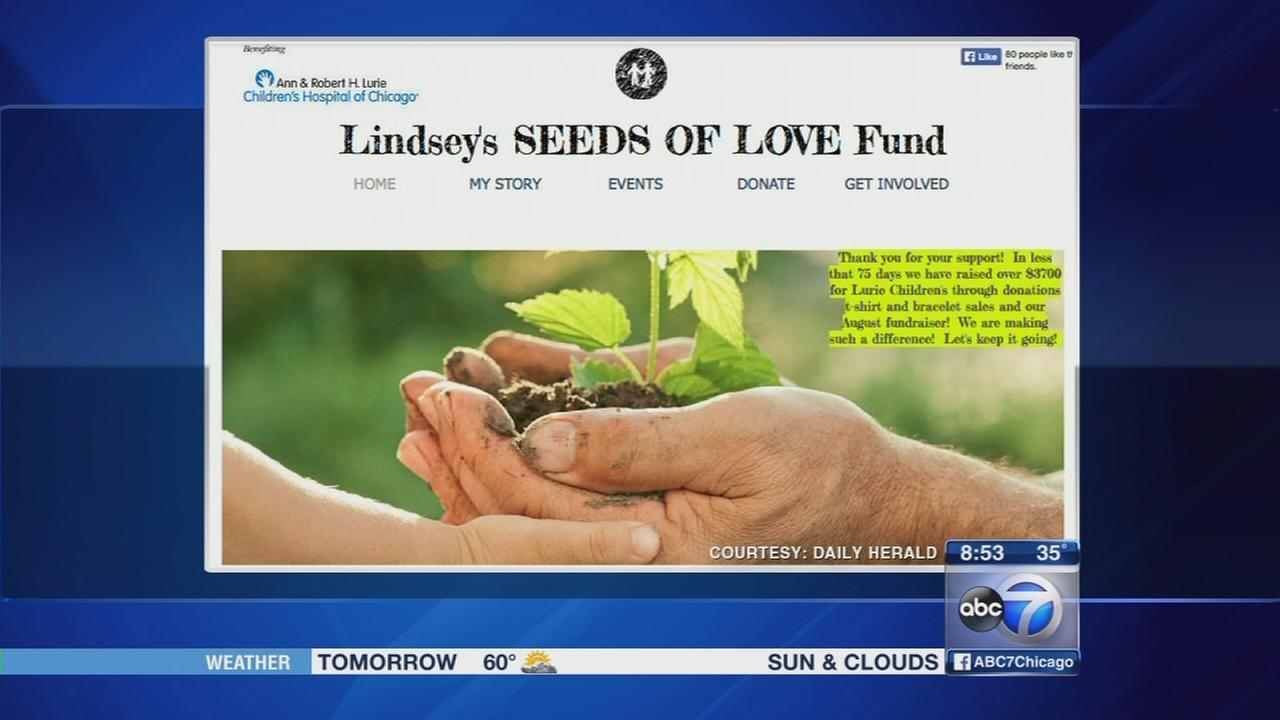 Teen creates Seeds of Love Fund while healing from injury