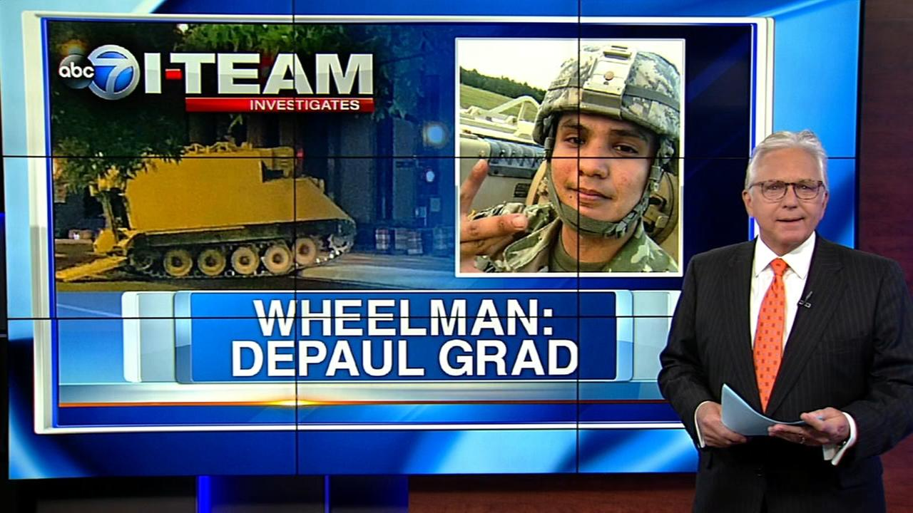 CRAZY CHASE: Accused driver of tank-like vehicle is DePaul grad