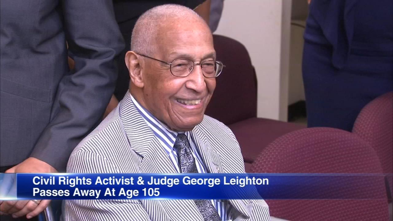 George Leighton, pioneering Civil Rights attorney and judge, dead at 105