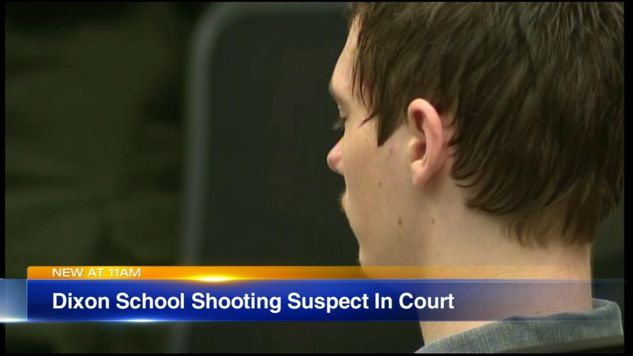 Dixon High School shooting suspect appears in court