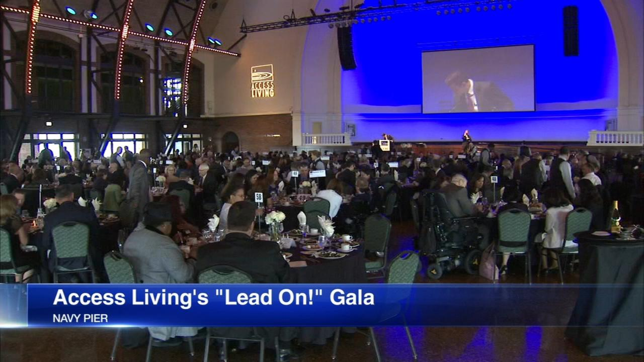 Access Living hosts Lead On! gala