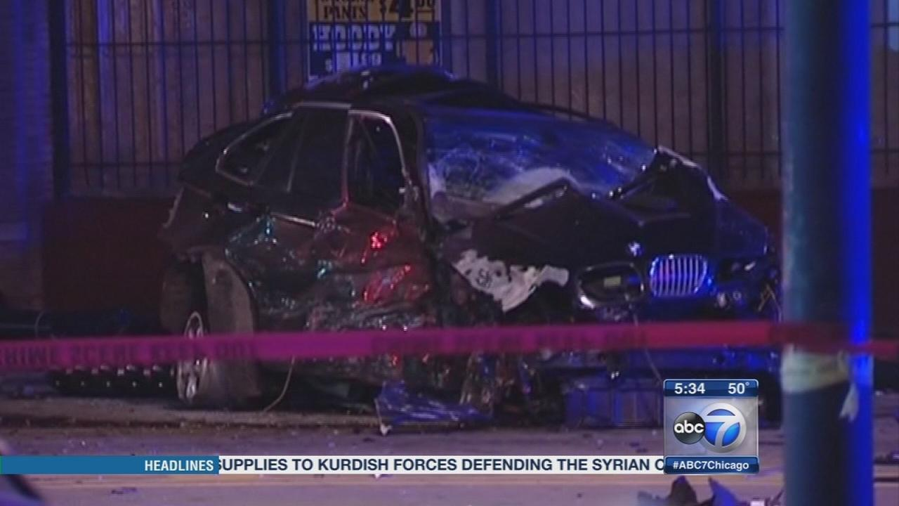 2 killed, officer hurt in Little Village crash