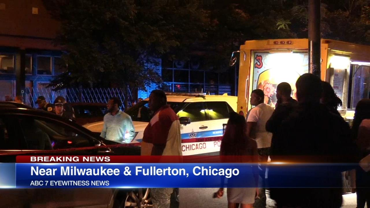 Man, 24, shot outside Logan Square bar