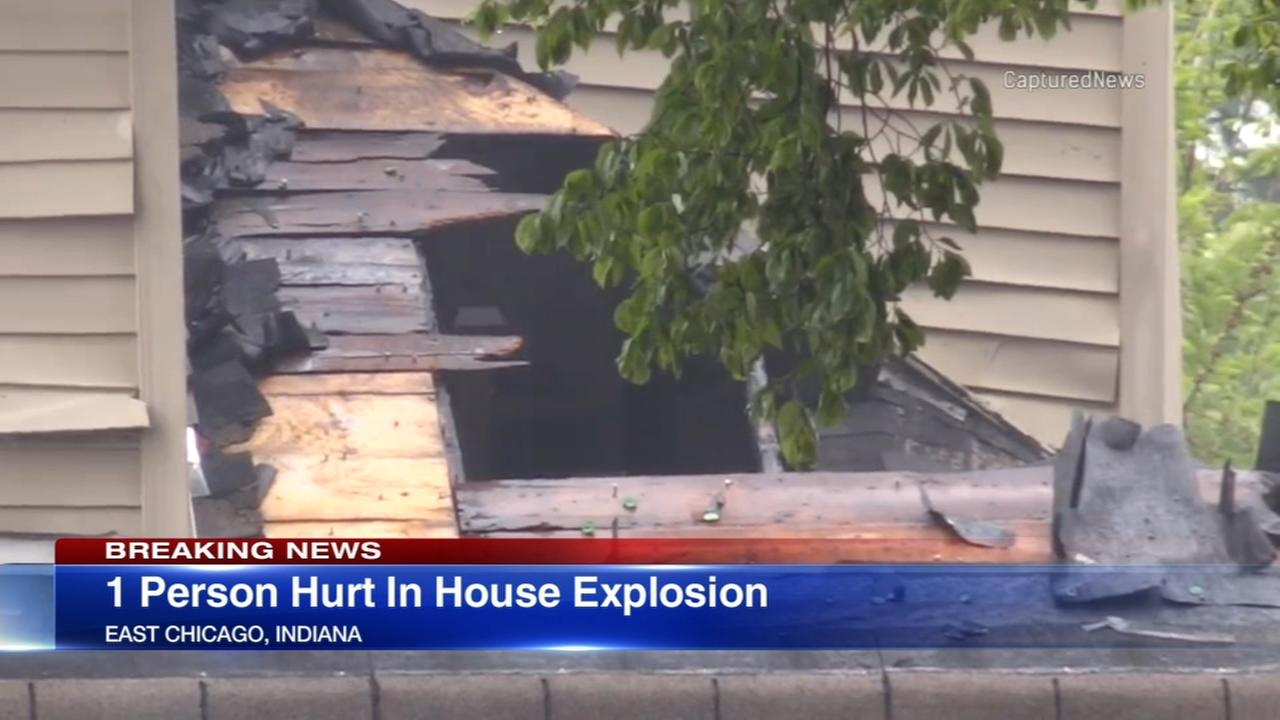 1 hurt in East Chicago house explosion