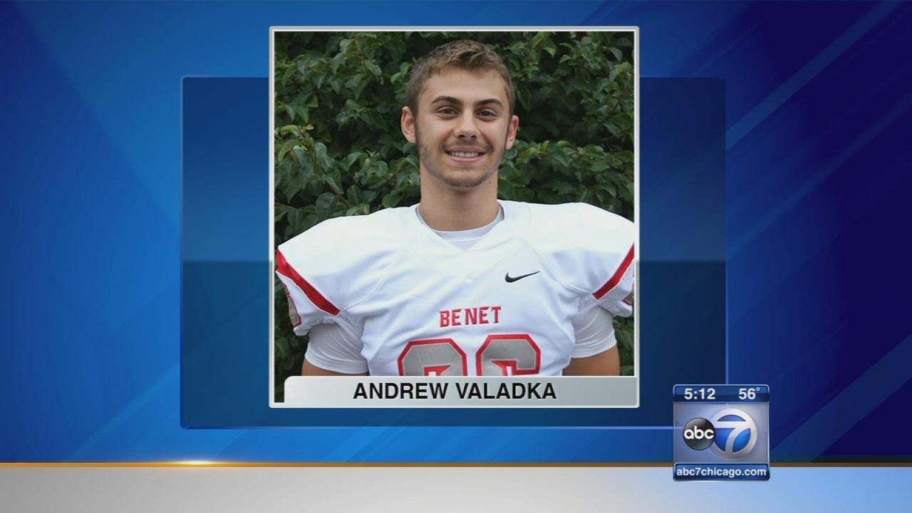 Benet football player fighting back from serious injury