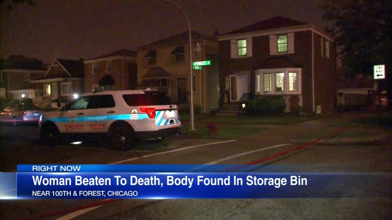Source: Woman, 81, beaten to death, put in storage bin