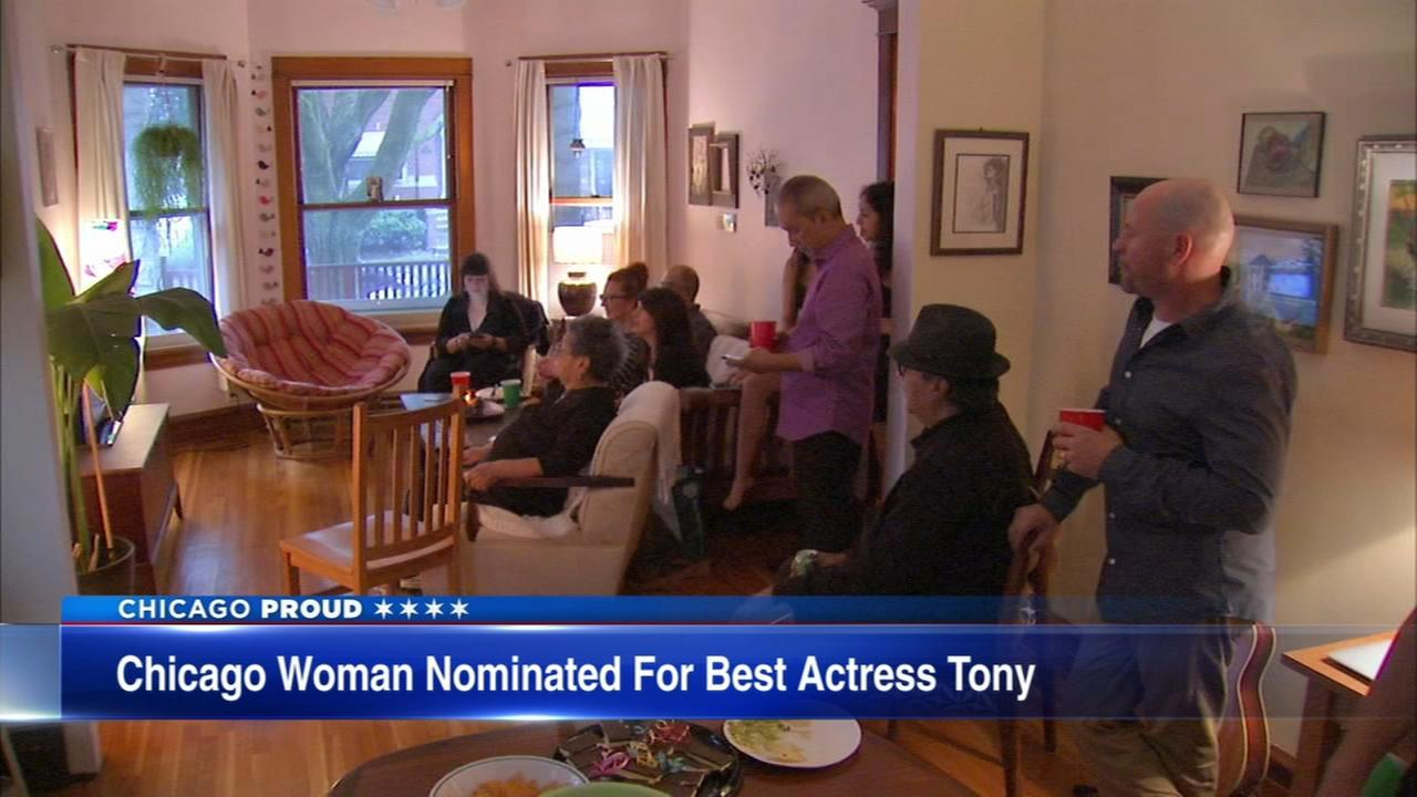 Chicago woman nominated for Best Actress Tony