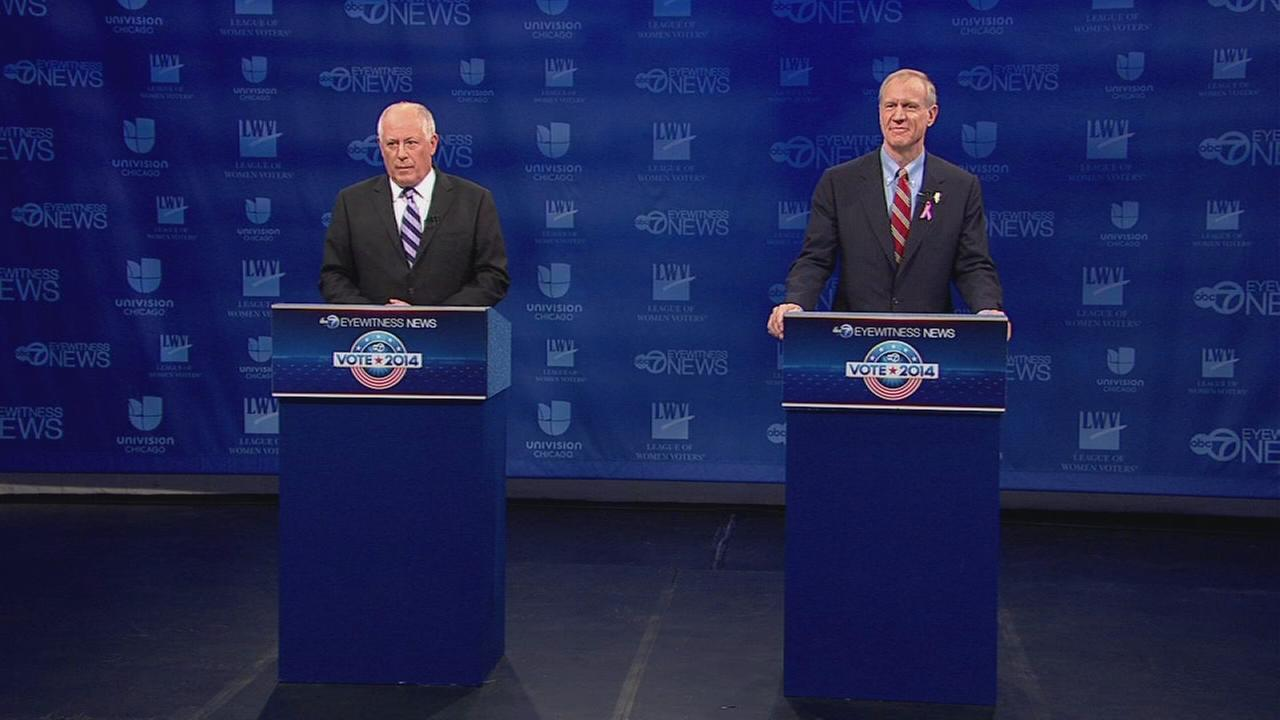 Quinn-Rauner Debate - Part 1