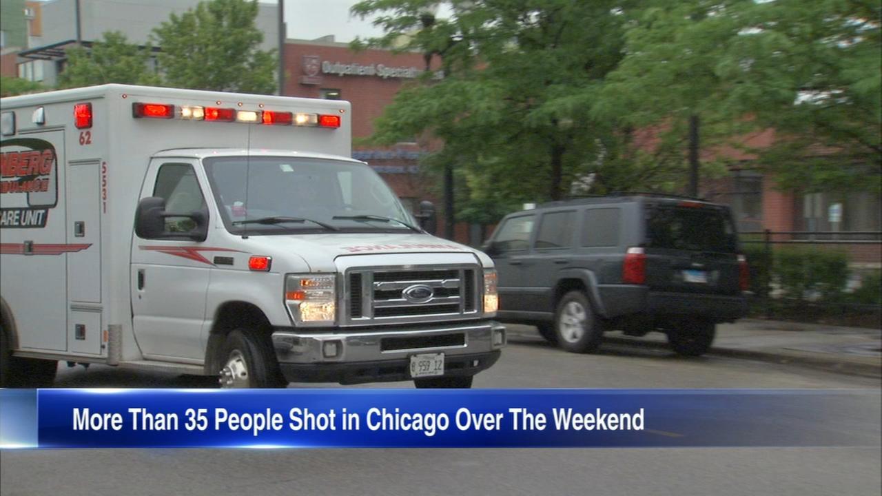 9 killed in Chicago weekend shootings