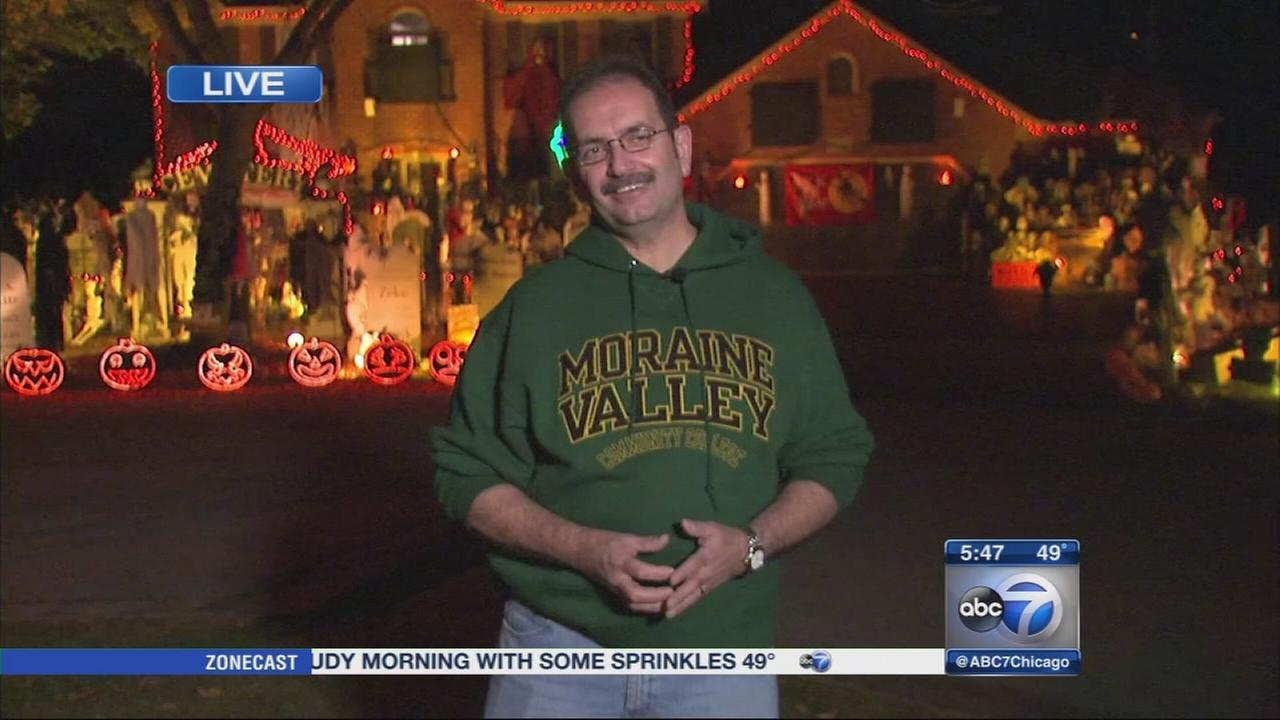 Naperville Halloween display gains national attention