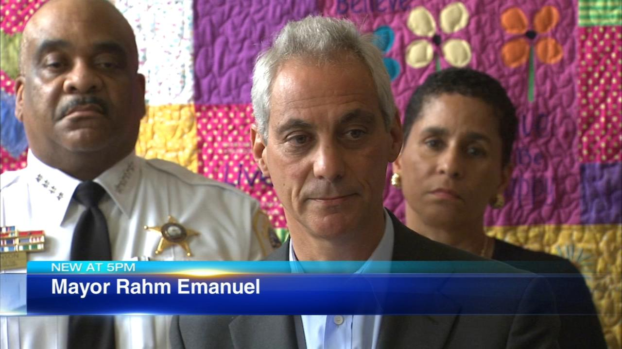 Emanuel proposes tax to support domestic violence shelters