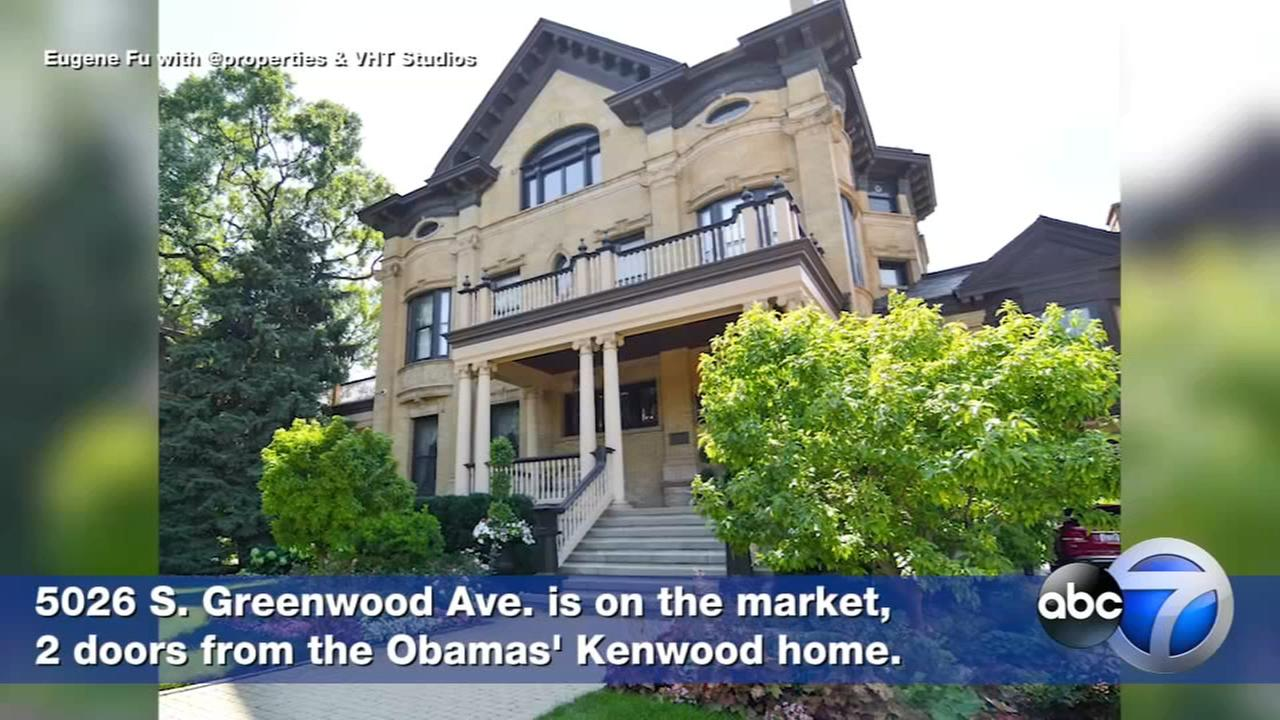 Kenwood home two doors down from Obamas on the market