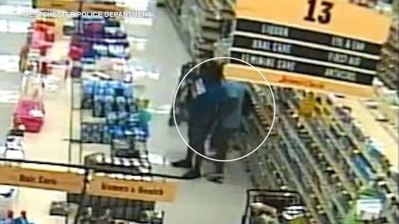 Couple caught on camera pick-pocketing elderly woman, police say
