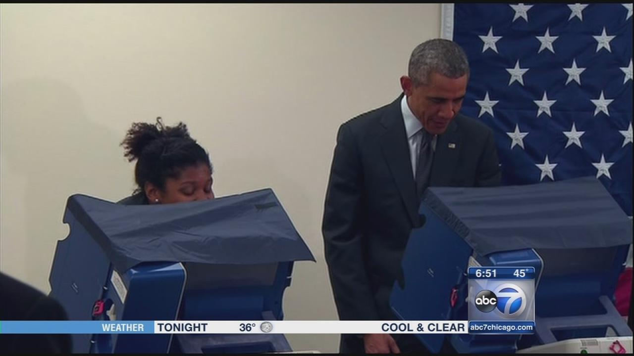 Chicago couple gets a laugh from President Obama