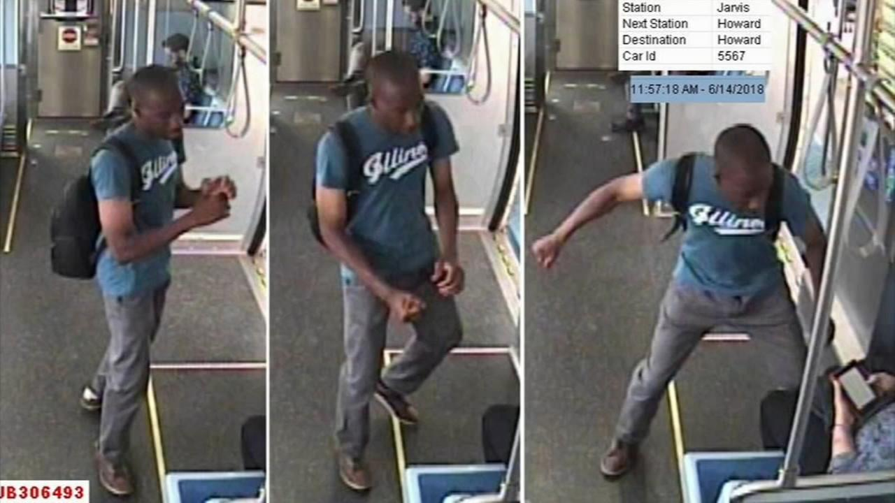Man in custody for sucker punching woman on CTA Red Line, police say