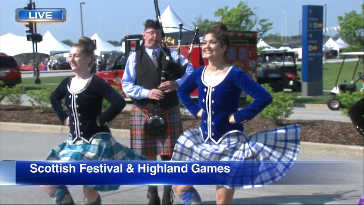 Scottish Festival and Highland Games brings kilts, bagpipes to Itasca