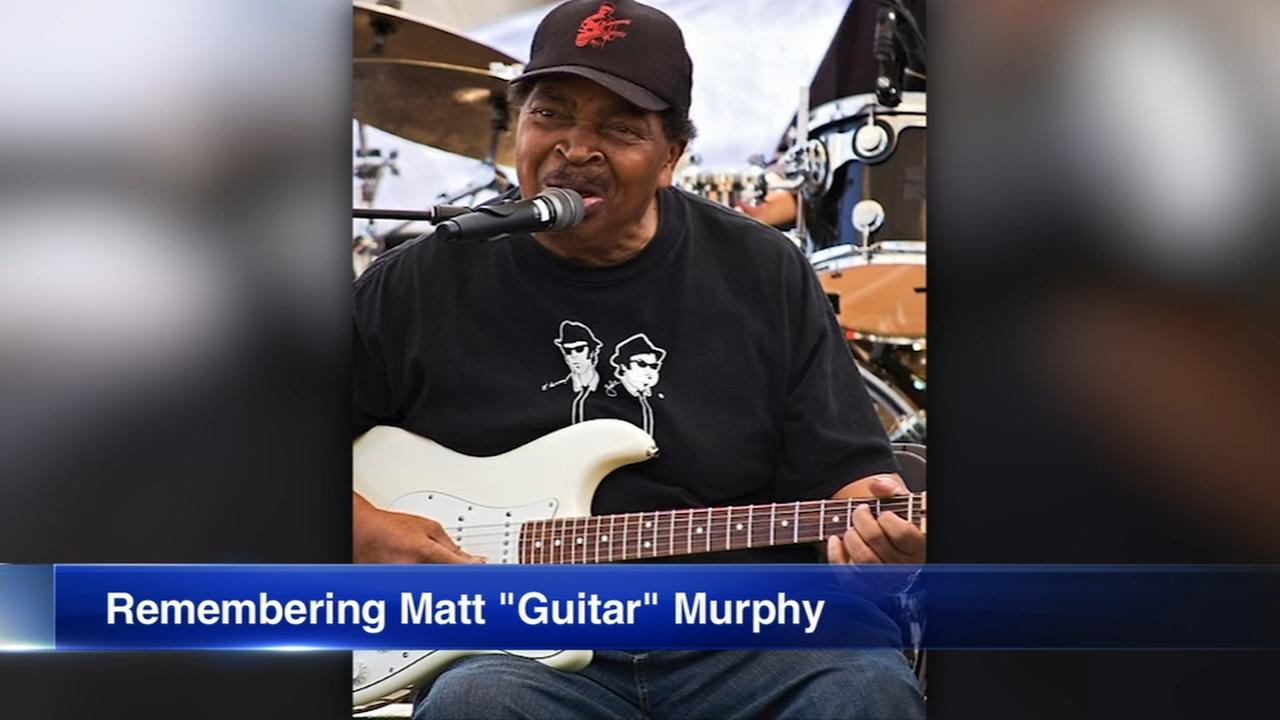 Blues Brothers Matt Guitar Murphy dies at 88