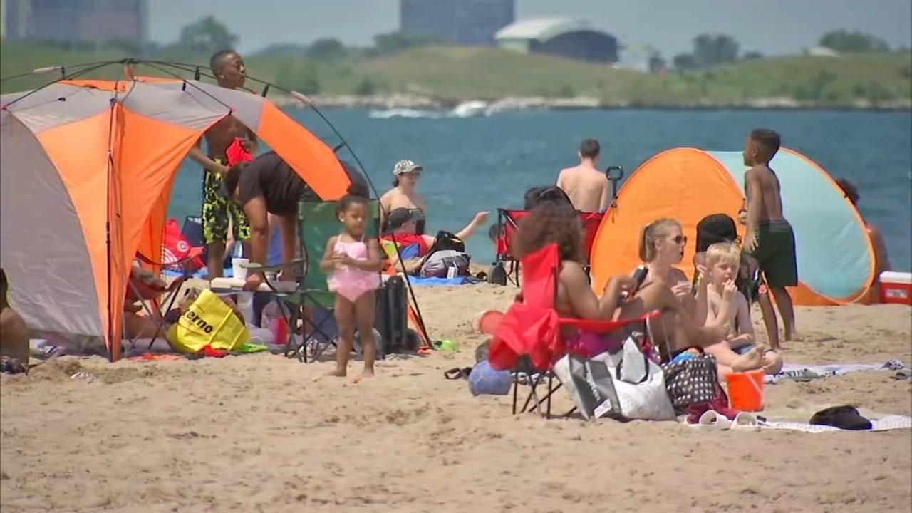 Excessive heat warning remains in effect for Cook County Sunday