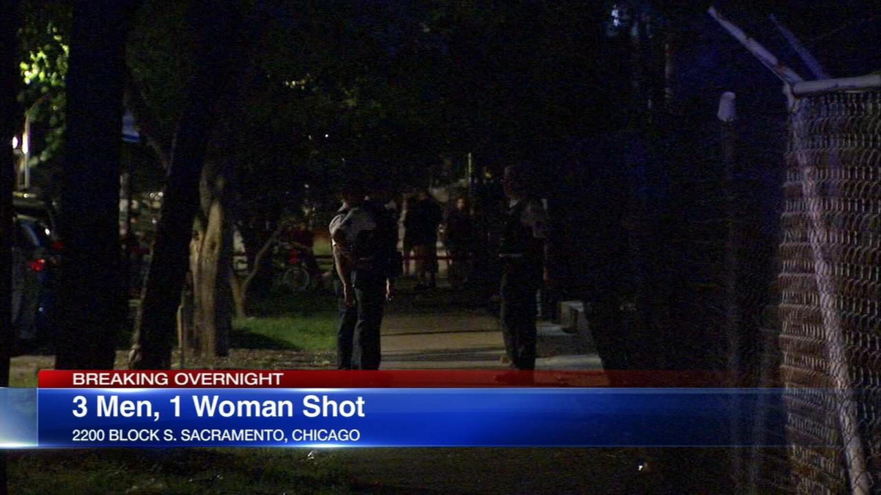 4 wounded in Little Village shooting
