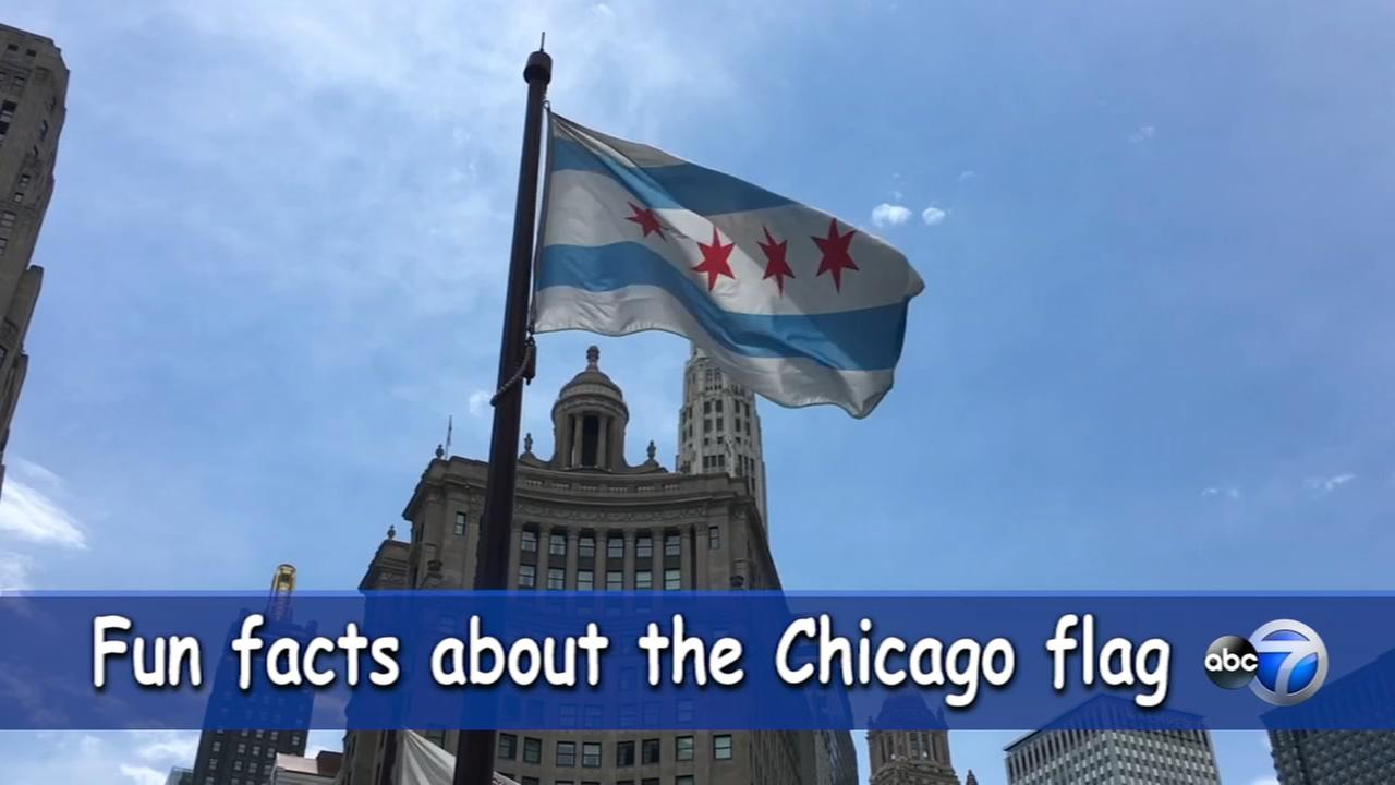 Fun facts about the Chicago flag