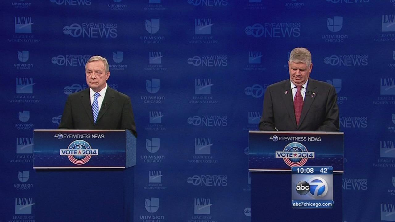 Durbin and Oberweis debate