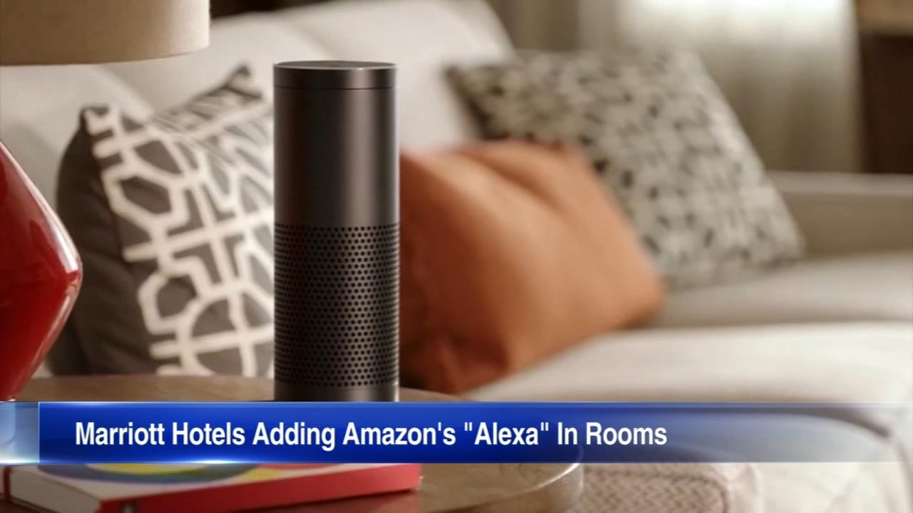 'Alexa, order room service': Marriott hotels add Amazons voice assistant